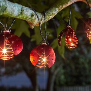 Ladybird Lights String- Set of 10