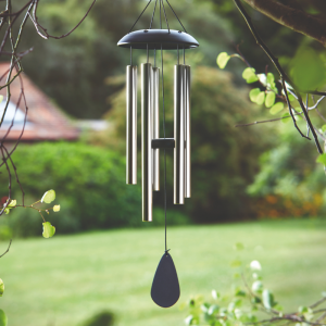 Golden Black Windchime 70 cm