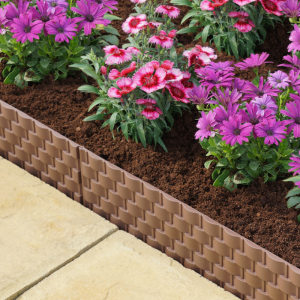 Faux Rattan Edging 4-Pack