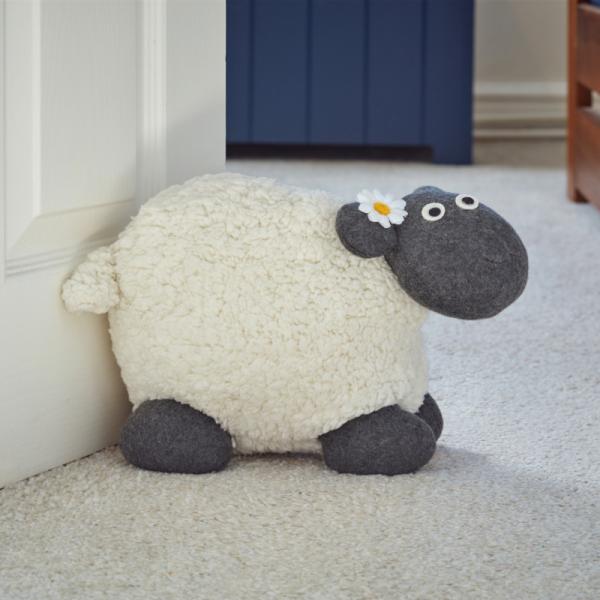 Woolly Sheep Doorstop 1.5kg