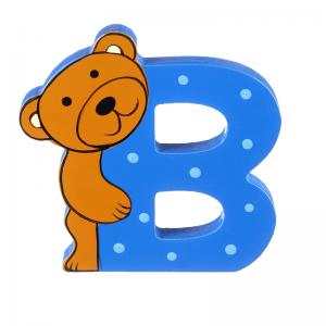 Wooden Alphabet Letter B