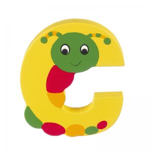 Wooden Alphabet Letter C