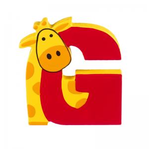 Wooden Alphabet Letter G