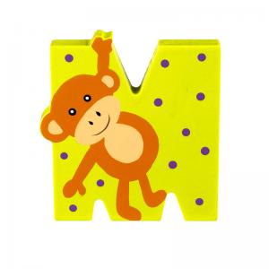 Wooden Alphabet Letter M
