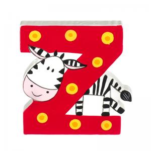 Wooden Alphabet Letter Z