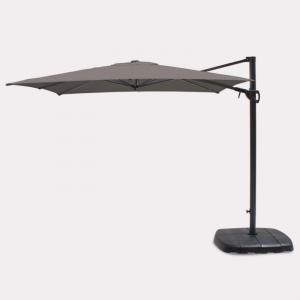 Kettler Free Arm Square Parasol Taupe 2.5m