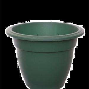 Round Bell Planter 30cm Green