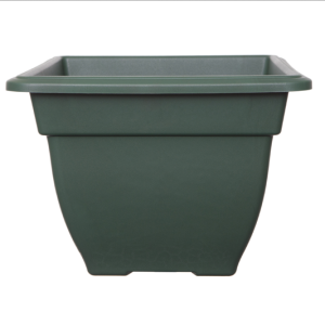 Square Bell Planter Forest Green