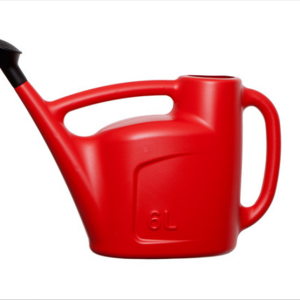 6L Watering Can Red