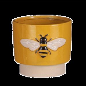 Bee Pot Yellow L