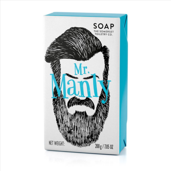 Mr Manly Soap 200g