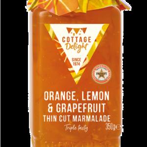Orange, Grapefruit & Lemon