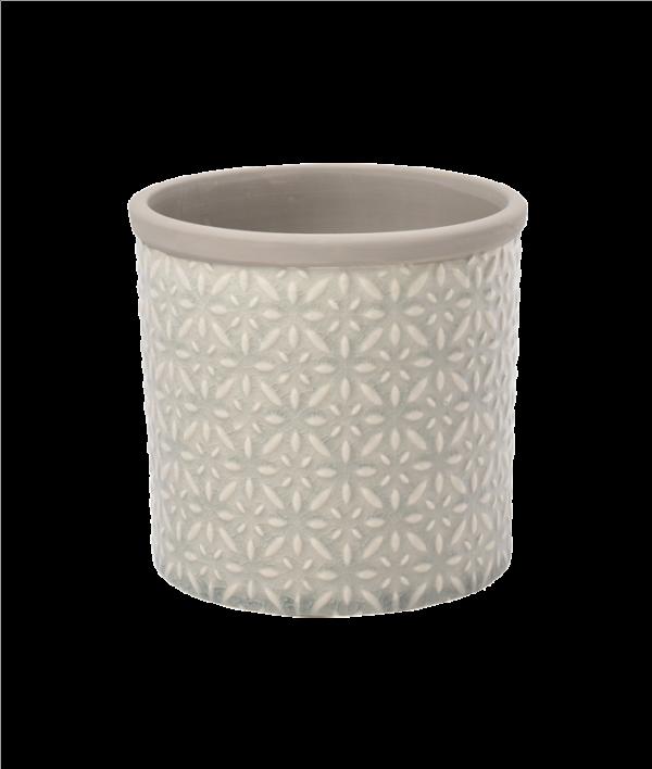 Tuscany Pot Small Grey