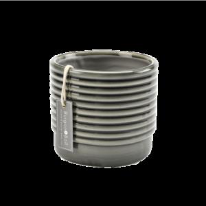 Oslo Pot Grey- Small