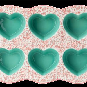 Ashley 6-Hearts Cake Mould