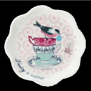 Ashley Ceramic Teabag Tidy