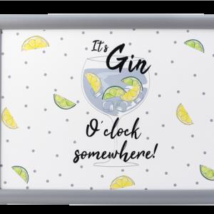 Gin o' Clock - Laptray