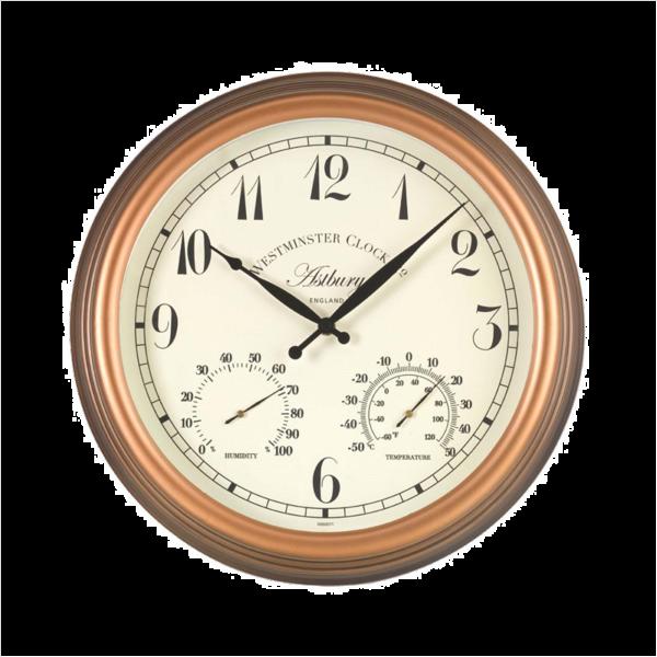 "Astbury Clock & Th/meter 15"""