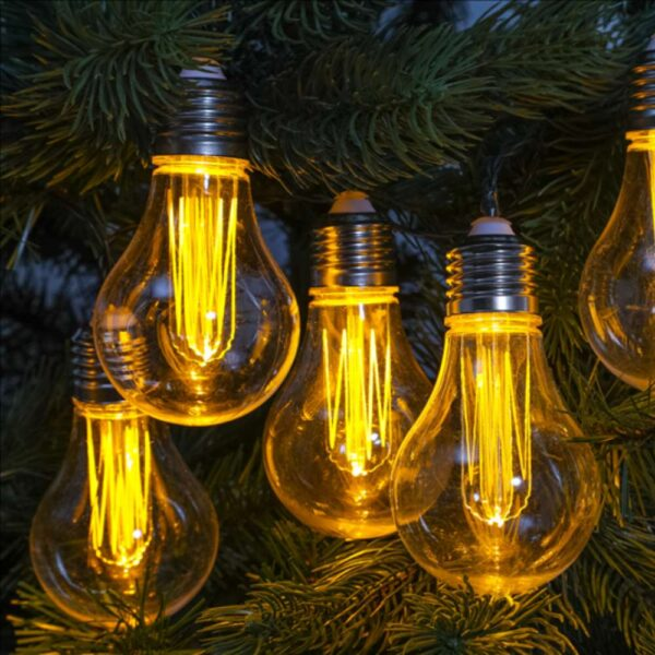 10 Edison Bulb String Lights