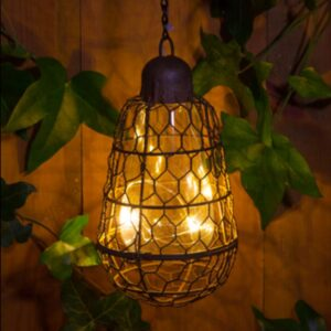 Rustic Bulb Hanging Light