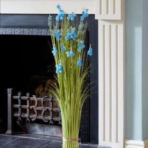 Faux Bouquet True Blue