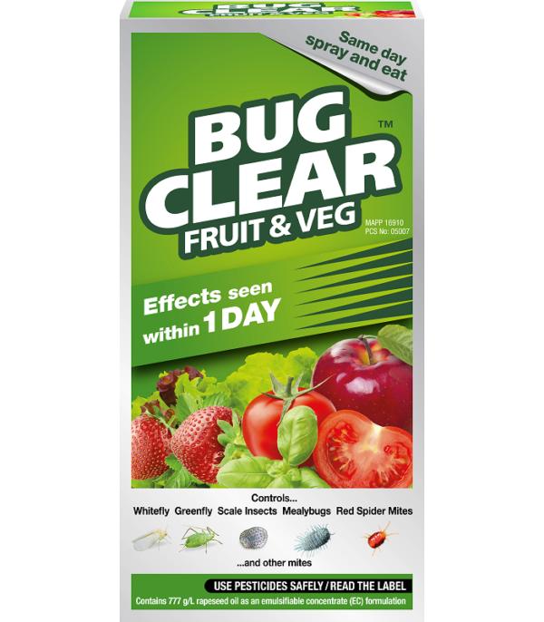 Bugclear Fruit 'N' Veg 250ml