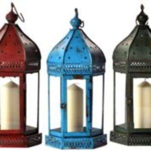 Arabian Lantern Blue