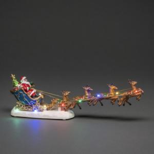Decoration Santa Sleigh with lights