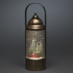 Water Lantern with Car in Trees