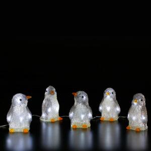 Acrylic Penguin Lights