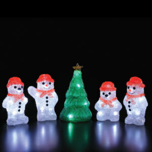 Snowmen & Tree Lights