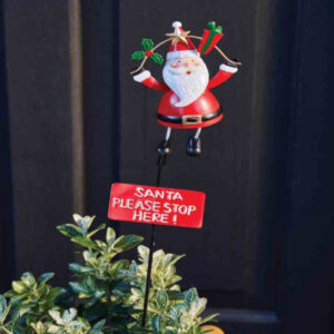 Stop Here - Santa Claus