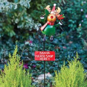 Stop Here - Rudy Reindeer