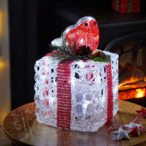 Faux Gift Box - Robin