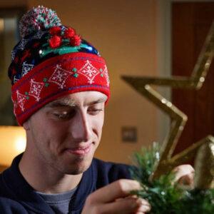 Beanie - Christmas Tree