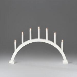 Candlestick White, 7 bulbs
