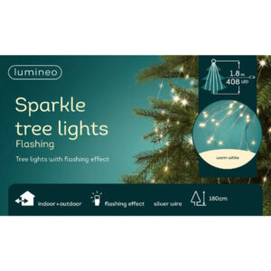 LED Tree Bunch Warm White/Silver