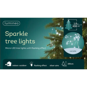 LED Tree Bunch Cool White/Silver