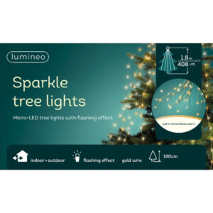 LED Tree Bunch Mixed White/Gold