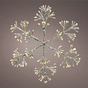LED Snowflake Outdoor 192 lights