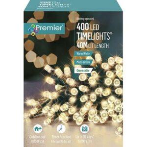 TimeLights 400 LED W/White