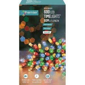 TimeLights 600 LED Multi