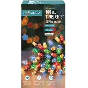 Battery Timelights 100 Multi WAS £9.99 NOW £5.99