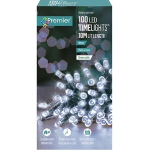 Battery Timelights 100 White WAS £9.99 NOW £5.99