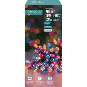 Battery Timelights 200 Rainbow WAS £14.99 NOW £9.99