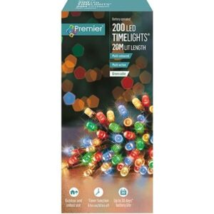 Battery Timelights 200 Multi WAS £14.99 NOW £9.99