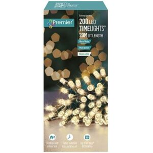 Battery Timelights 200 W/ White WAS £14.99 NOW £9.99