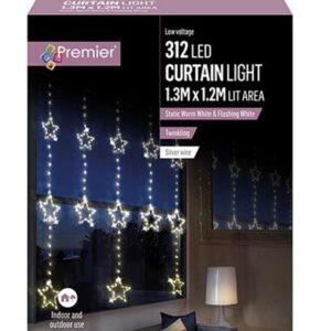 Star Pin Wire Curtain 1.2x1.4M