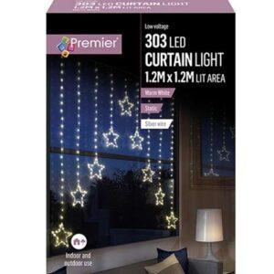 Star 'V' Curtain1.2 x 1.2M