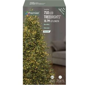 TreeBrights Timer 750 W/Wwhite WAS £32.99 Now £22.99